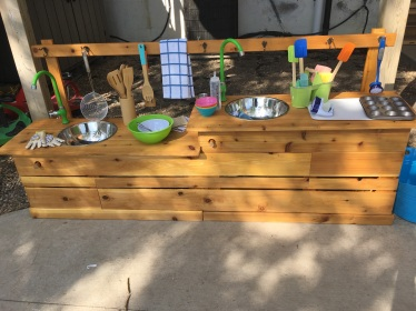 We hope to add a Mud Kitchen to our Sacred Heart play space. This purchase with all accessories will cost about $750.00, so we have rasied enough to purchase this in the Spring!
